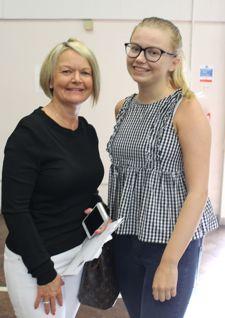 Lily barham proud mum