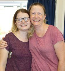 Lucy cruickshank and mum